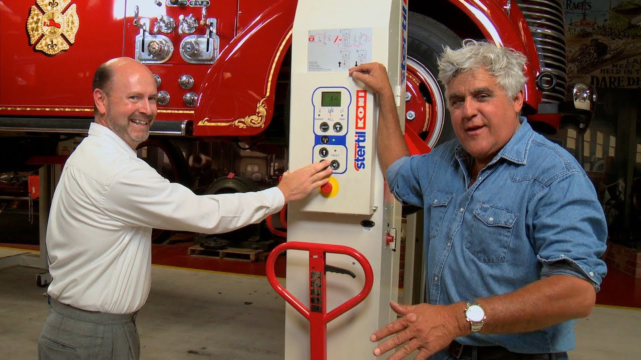 Mobile Column Lifts Jay Leno S Garage Youtube