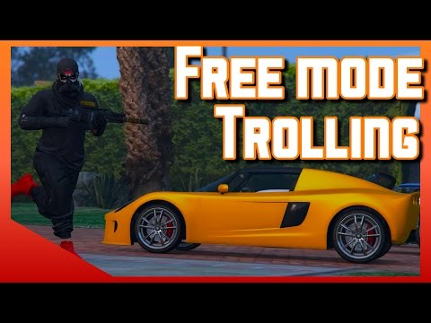 Grand Theft Auto Freemode Moments | Trolling | GTA v online Gameplay (PS4)