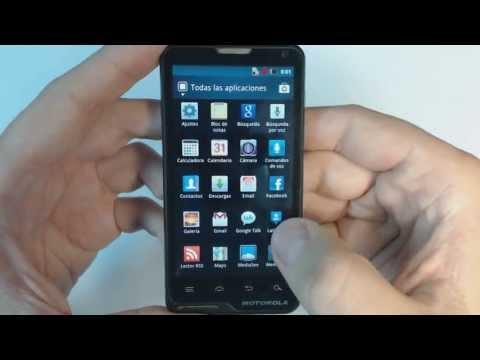 Motorola MOTOLUXE XT615 - How to reset - Como restablecer datos de fabrica