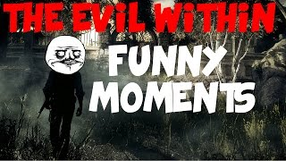 The Evil Within Funny Moments [Bugs Glitches Trolling and more!]