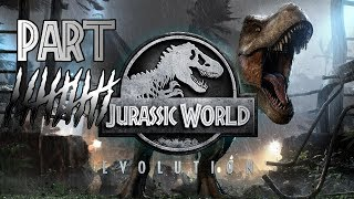 JURASSIC WORLD EVOLUTION Walkthrough Gameplay Part 10 - DINO ESCAPE (PS4 Pro)
