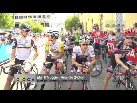 VIDEO COMENTARIO ETAPA 18 GIRO DE ITALIA 2016