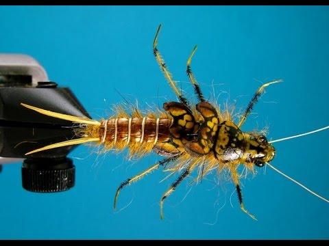 Как связать уловистую мушку или обманку на рыбалку образцы личинок поденки подкаменщика червей