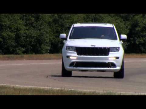 2013 Jeep® Grand Cherokee SRT8 Alpine: Running Footage