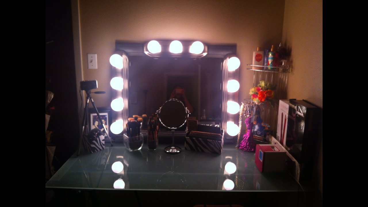My DIY Hollywood Style Vanity & Makeup Collection!★♥★