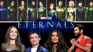 ETERNALS D23 Panel Footage (2019) Marvel Superhero Movie