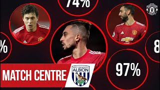 Match Centre | Telles, Fernandes & Lindelof help Reds to victory over West Brom | Manchester United