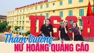 Vlog Mi Sơn : Thăm trường nữ hoàng quảng cáo Mây | ĐH Khoa học Xã hội & Nhân văn