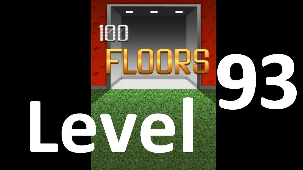 100 Floors Level 93 Floor 93 Solution Walkthrough Youtube