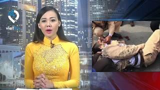 Taxi tông gục CSGT trên cao tốc Nội Bài - Lào Cai