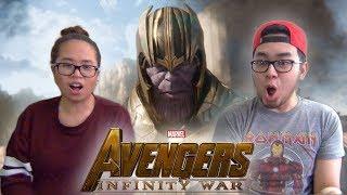 AVENGERS INFINITY WAR Official Trailer 2 REACTION