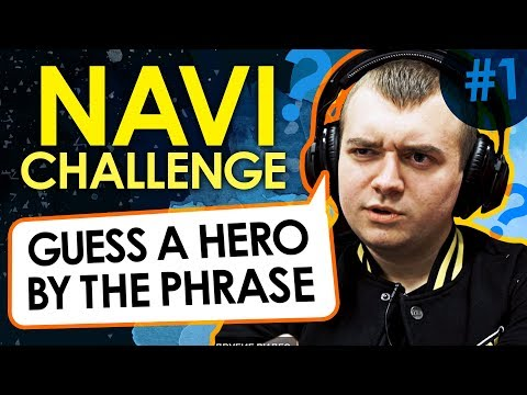 NAVI Challenge: Guess a hero by the phrase - part 1