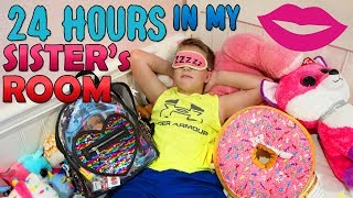 24 Hours in My Sister's New Room