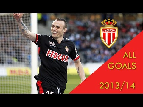 Dimitar Berbatov - AS Monaco Genius - 2013/14 Highlights + ALL GOALS