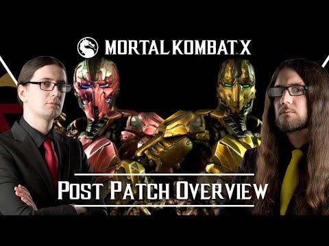 MKX - Post Patch Cyrax/Sektor overview with K&M