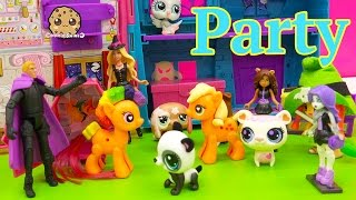 My Little Pony Apple Jack Goes To After Halloween Costume Party with Chad Alan Magician Video