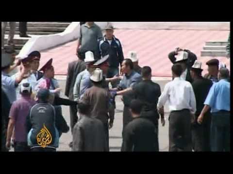 Battles erupt in Kyrgyzstan