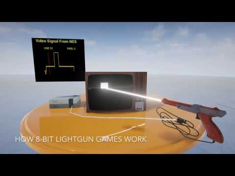 Playing Light Gun Games on a Modern LCD TV