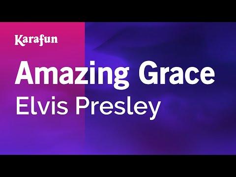 Karaoke Amazing Grace - Elvis Presley *