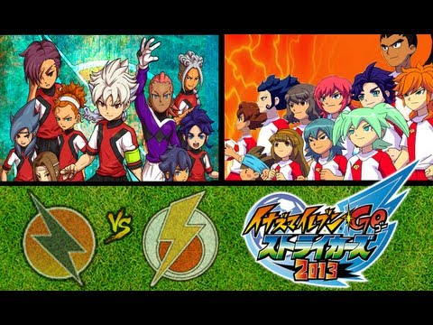 Resistance Japan vs. Shinsei Inazuma Japan - Inazuma Eleven GO Strikers 2013
