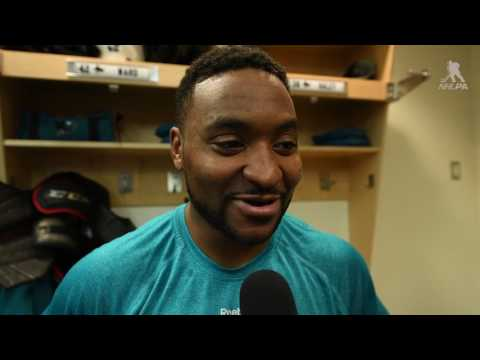 In The Locker Room - Joel Ward