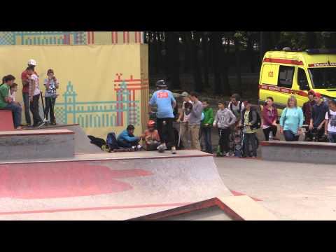 20150906 Богдан Гришанов, kick scooter, МТС #WOWMOSCOW контест ВДНХ