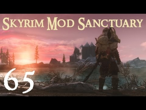 Skyrim Mod Sanctuary 65 : Less Intrusive HUD and Immersive HUD (iHUD)