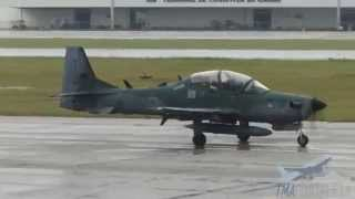 [SBFZ/ FOR] Decolagem RWY13 Embraer EMB-314 (A-29B) Super Tucano FAB5919 12/07/2014
