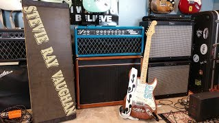 My Stevie Ray Vaughan Lenny Tribute 1965 Stratocaster SRV | In and Out