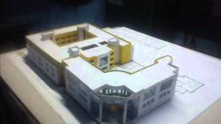 How to make architecture, building, house model