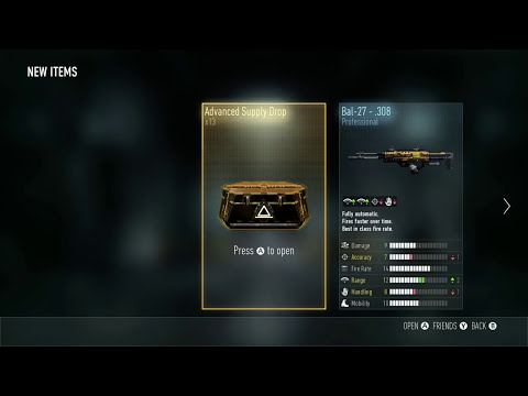 CALL OF DUTY: ADVANCED SUPPLY DROPS 40 DOLLARS ALL GARBAGE DONT BUY