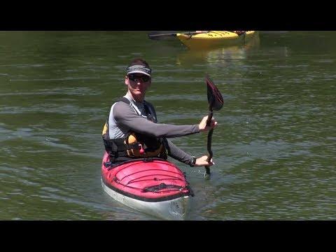 Kayak Rudder Stroke - How to Paddle Series
