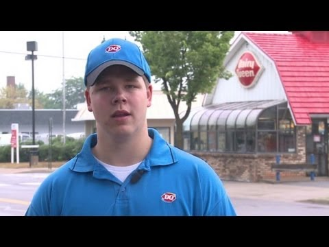 Dairy Queen manager's deed goes viral