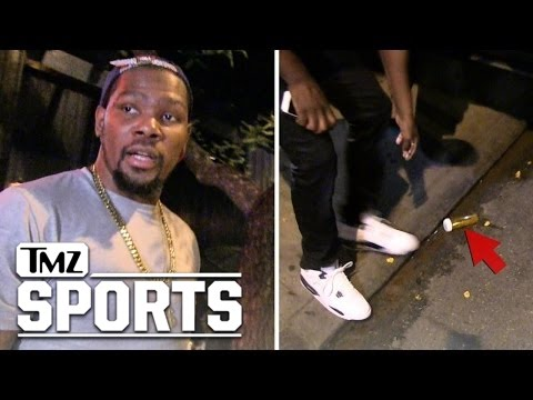Kevin Durant -- Oops, There Goes the Weed!!!