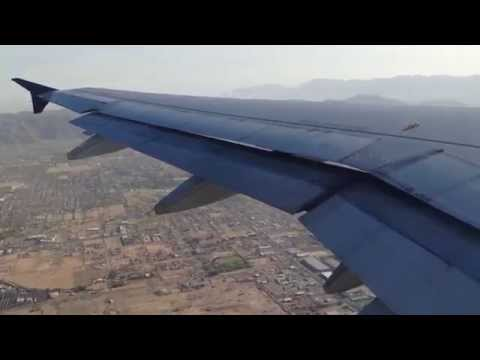 Super Steep US Airways A319 Takeoff From Phoenix Sky Harbor!
