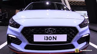 2018 Hyundai i30 N - Exterior and Interior Walkaround - Debut at 2017 Frankfurt Auto Show