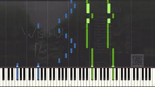 Dyathon I Wish You Were Here Piano Tutorial Synthesia