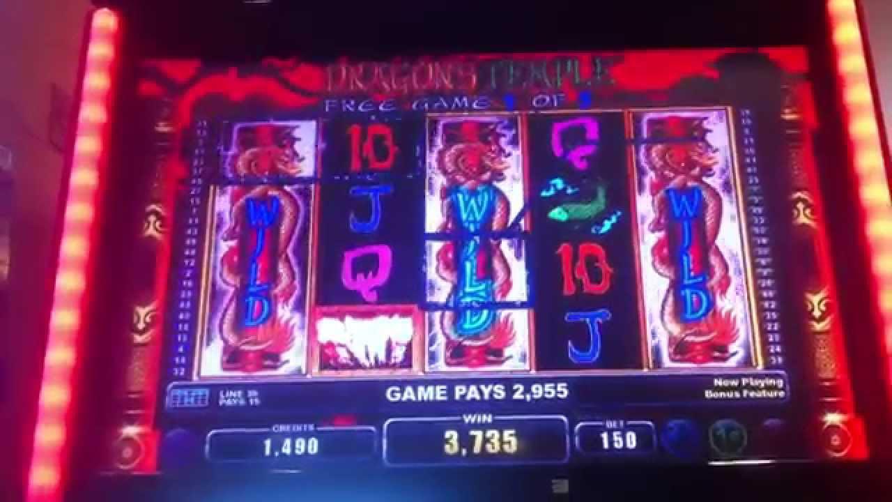 dragon temple slot machine