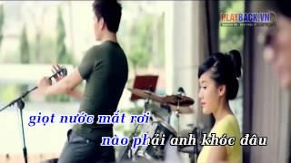 Lỡ Yêu   Lâm Chấn Huy Karaoke beat chuẩn