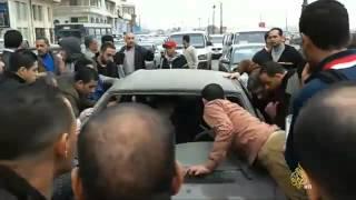 مصرع 19 طالبا مصريا باحتراق حافلة بدمنهور