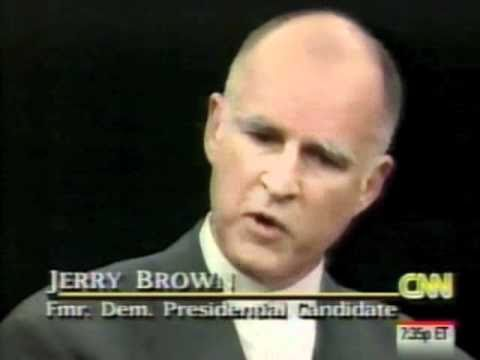 Jerry Brown on Bill Clinton