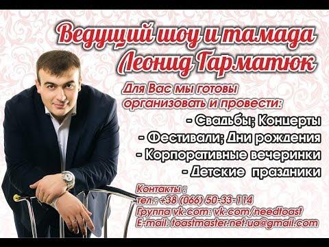 Ведущий шоу и тамада Леонид Гарматюк Свадьба 14.06.2013