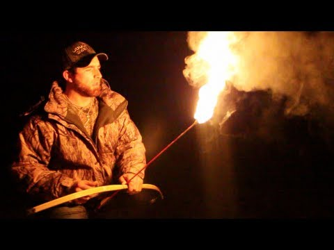 Bow and Arrow Trick Shots   Dude Perfect