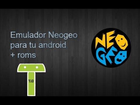 Emulador Neogeo en android (Neodroid)