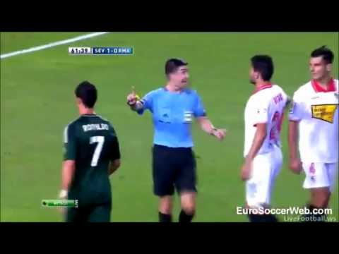 Emir Spahic vs Ronaldo 9-15-2012