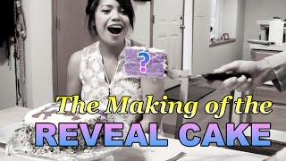 The Making of the Reveal Cake