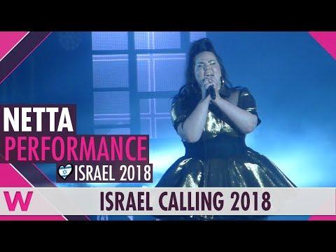 "Netta ""Toy"" (Israel 2018) LIVE @ Israel Calling 2018"