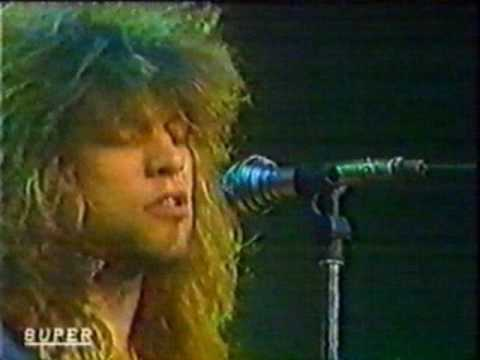 Bon Jovi - Livin' On A Prayer & Never Say Goodbye, Superchannel 1986 [AI]