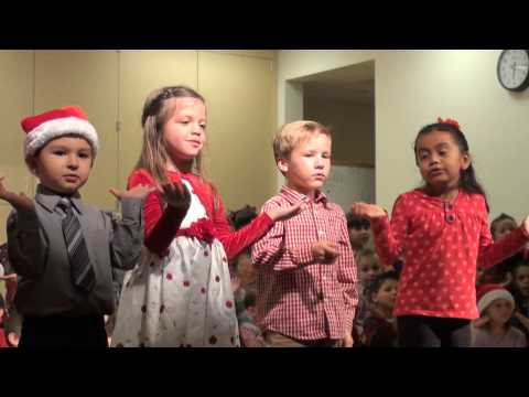 RAW VIDEO: T. L. Waggoner Elementary School students sing for the Christmas season