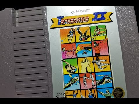 Classic Game Room - TRACK & FIELD II review for NES